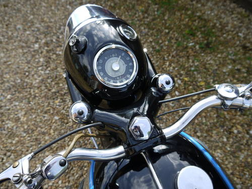 1962 AJS MODEL 31 - EXCELLENT RESTORED 650 TWIN !!  SOLD (picture 6 of 6)