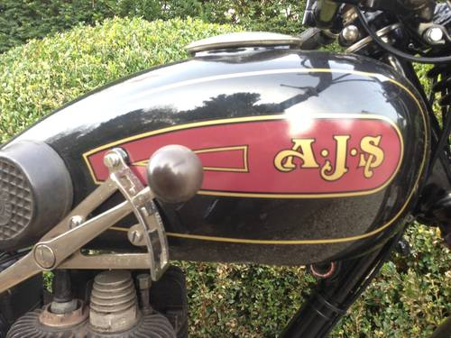 AJS - M9  500cc   1929 For Sale (picture 3 of 6)