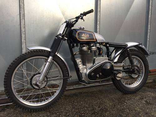 1955 AJS MATCHLESS TRIALS TRAIL SIMPLY LOVELY BIKE £9750 ONO For Sale (picture 2 of 6)