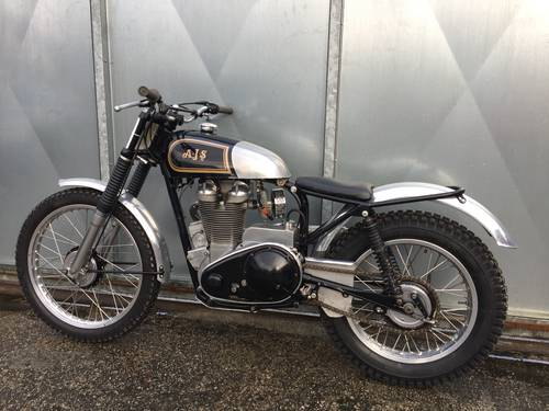 1955 AJS MATCHLESS TRIALS TRAIL SIMPLY LOVELY BIKE £9750 ONO For Sale (picture 3 of 6)