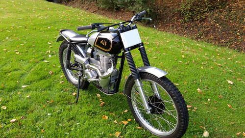 1955 AJS MATCHLESS TRIALS TRAIL SIMPLY LOVELY BIKE £9750 ONO For Sale (picture 4 of 6)