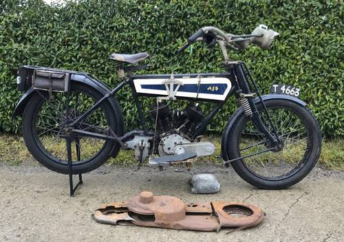 AJS model D1  750cc V-twin   1915 For Sale (picture 1 of 6)