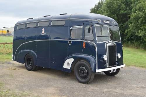 1951 Albion FT521 Glasgow Prison Transfer Vehicle at Auction SOLD by Auction (picture 1 of 6)