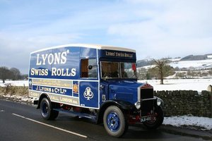 1935 Albion SPL 126 Van For Sale