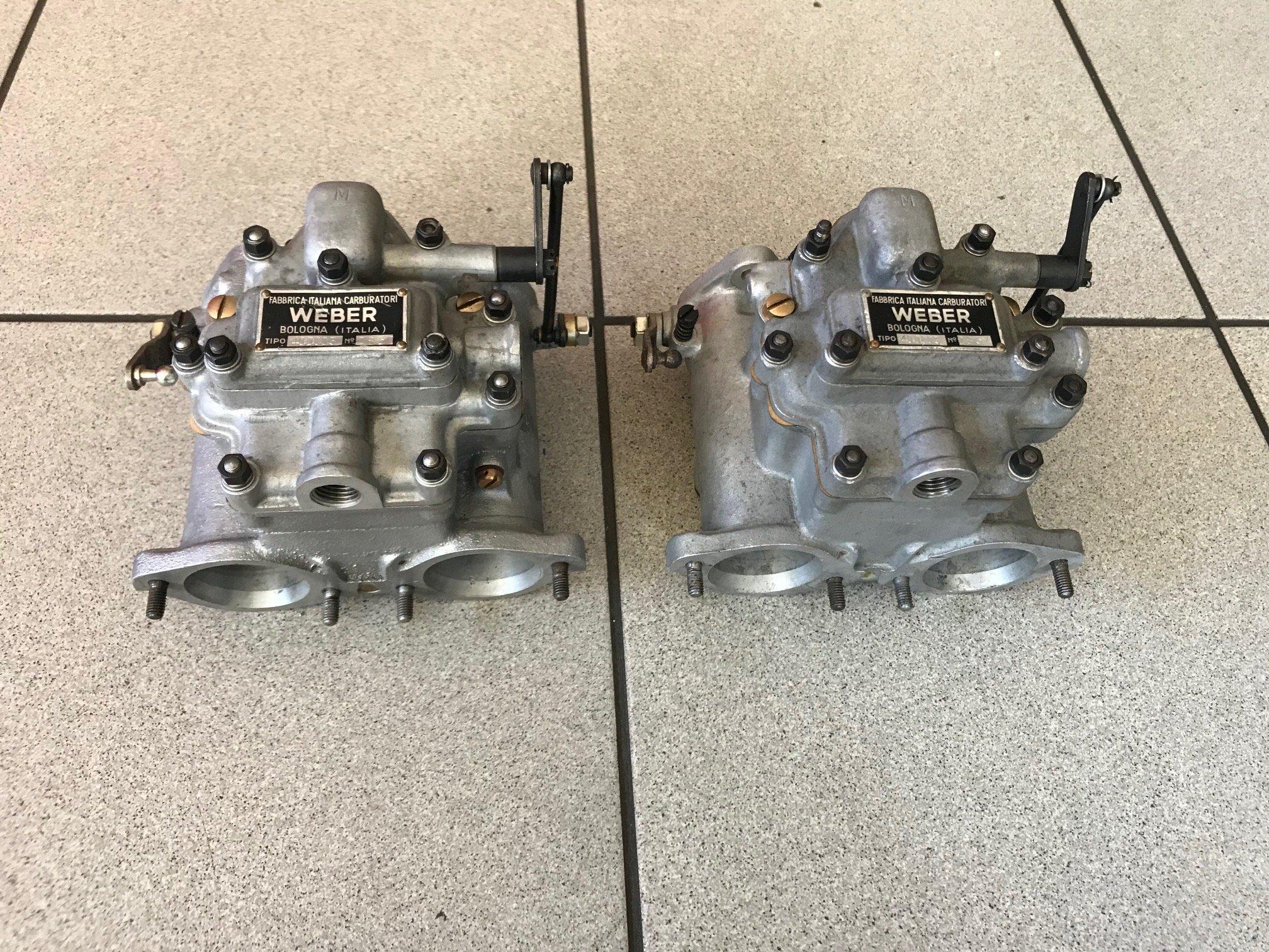 Carburetors Weber 40DCO3 restored