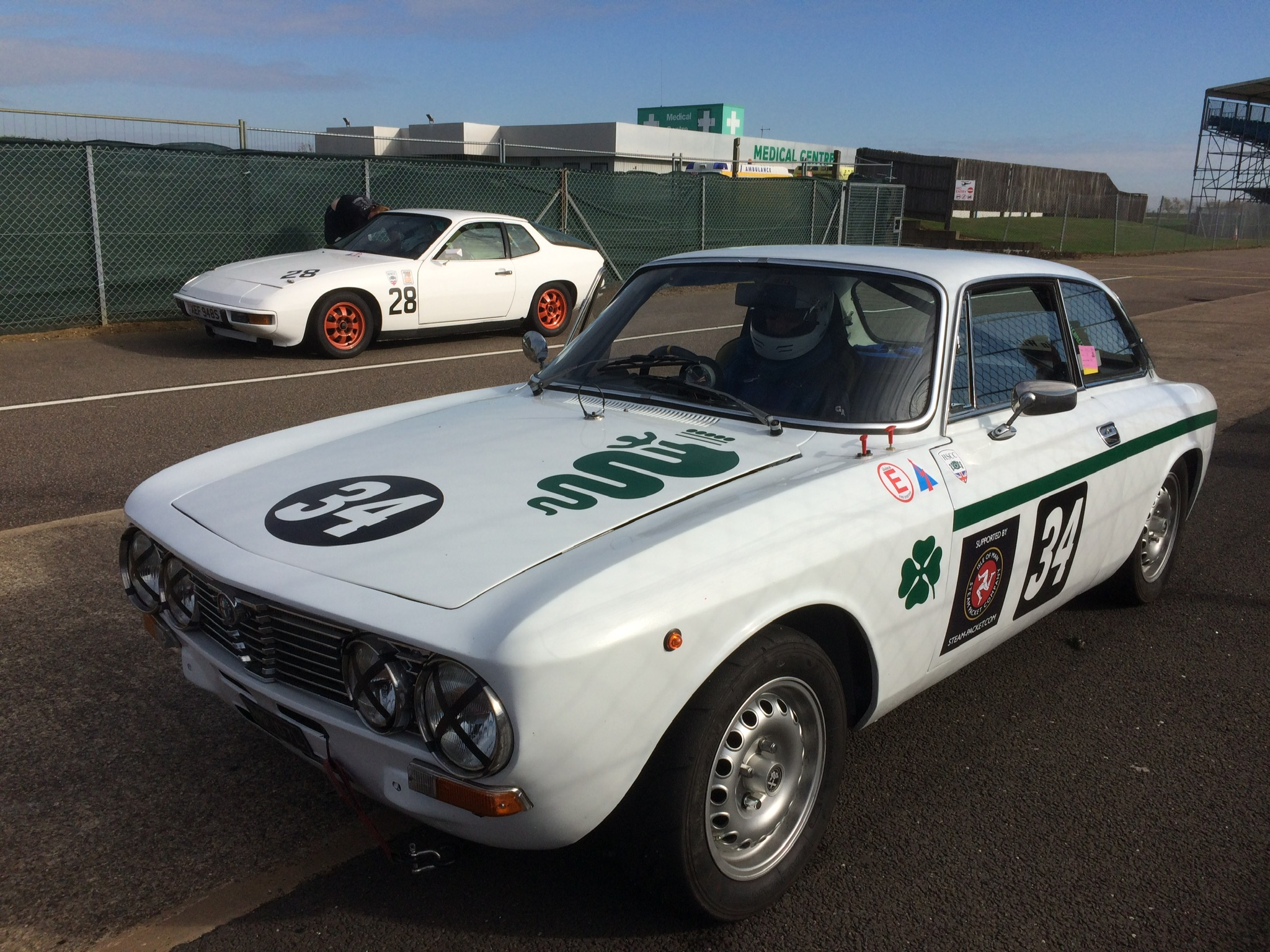 Alfa Romeo 2000 GTV Race Car