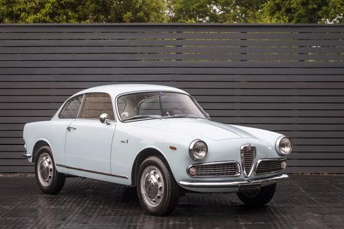 1963 Alfa Romeo Giulia Sprint 1600 LHD SOLD (picture 1 of 6)