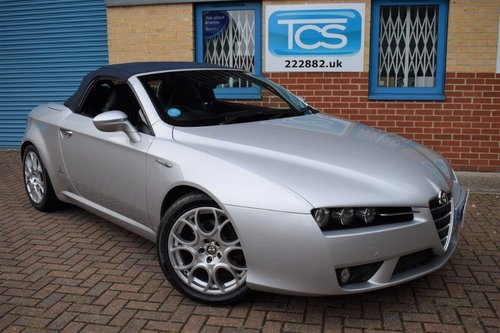 2007 Alfa Romeo Spider Roadster 2.2i JTS SOLD (picture 1 of 6)