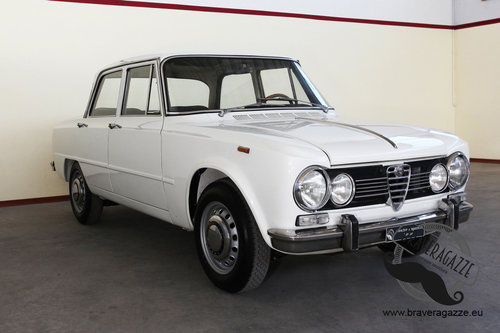 1970 Rare and in exceptional condition Giulia Biscione) For Sale (picture 1 of 6)