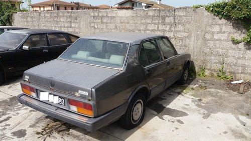 1983 ALFETTA 2.0 QUADRIFOGLIO ORO For Sale (picture 5 of 5)
