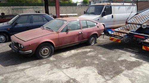 1977 ALFETTA GTV 1.6 For Sale (picture 1 of 3)
