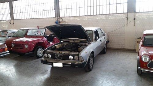 1982 ALFA ROMEO ALFA 6 2.5 V6 BUSSO For Sale (picture 1 of 3)