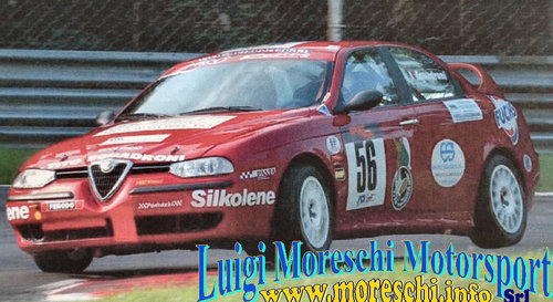1998 Alfa Romeo 156 TS 2.0-16v Gr A For Sale (picture 1 of 6)