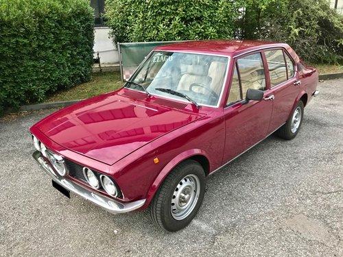 1976 ALFA ROMEO ALFETTA 1600 For Sale (picture 1 of 6)