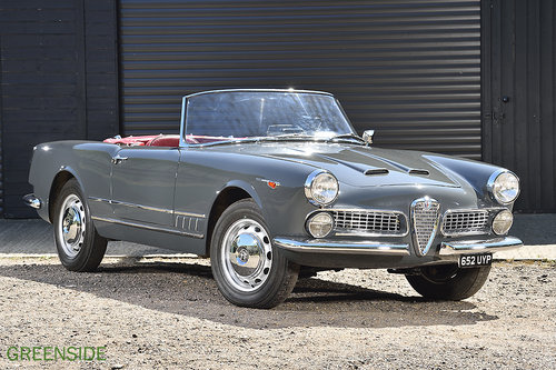 1960 Alfa Romeo 2000 Superleggera Spider For Sale (picture 1 of 6)
