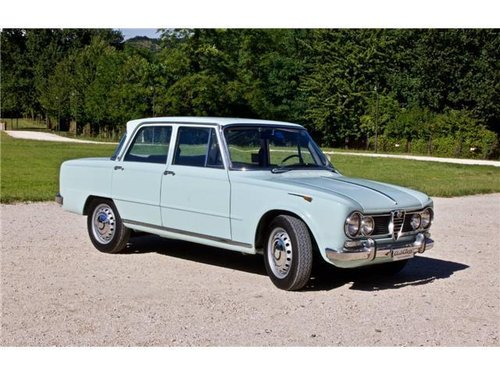 1965 ALFA ROMEO GIULIA SUPER -BOLLINO ORO- For Sale (picture 1 of 6)