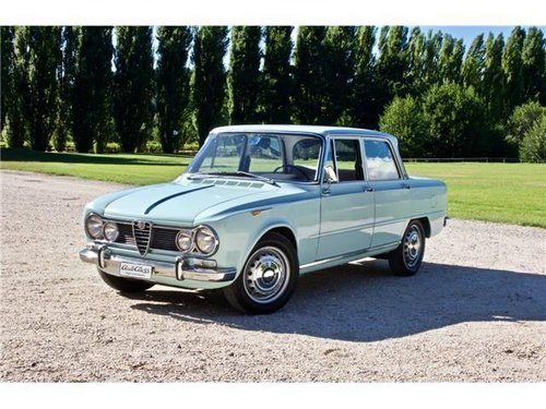 1965 ALFA ROMEO GIULIA SUPER -BOLLINO ORO- For Sale (picture 2 of 6)
