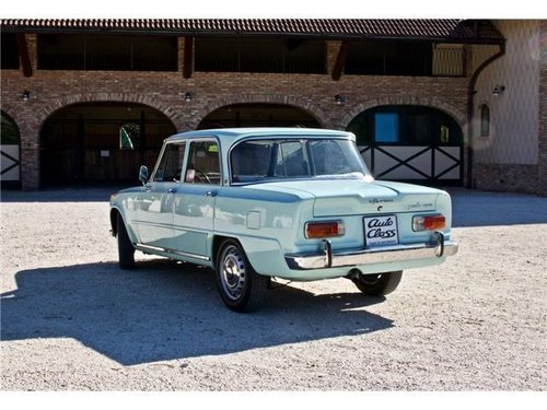 1965 ALFA ROMEO GIULIA SUPER -BOLLINO ORO- For Sale (picture 3 of 6)