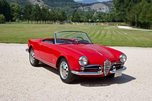 Alfa Romeo Giulietta Spider Veloce -1957- For Sale (picture 1 of 6)