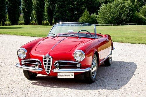 Alfa Romeo Giulietta Spider Veloce -1957- For Sale (picture 2 of 6)