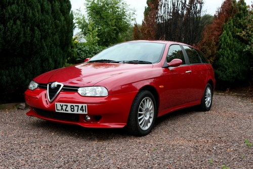 2001 Alfa Romeo 156 V6 Veloce SW 6-sp For Sale (picture 1 of 6)