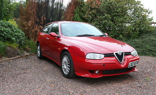 2001 Alfa Romeo 156 V6 Veloce SW 6-sp For Sale (picture 2 of 6)