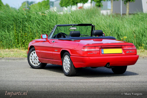 1992 Excellent Alfa Romeo Spider 2.0 LHD For Sale (picture 6 of 6)
