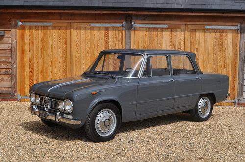 1963 Alfa Romeo Giulia TI Sports Saloon For Sale (picture 1 of 5)