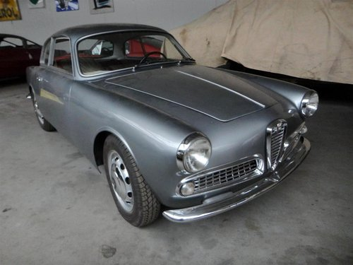 1958 Perfectly restored Alfa Sprint Veloce. For Sale (picture 1 of 6)