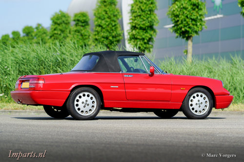 very nice Alfa Romeo Spider 2.0  1992 For Sale (picture 6 of 6)