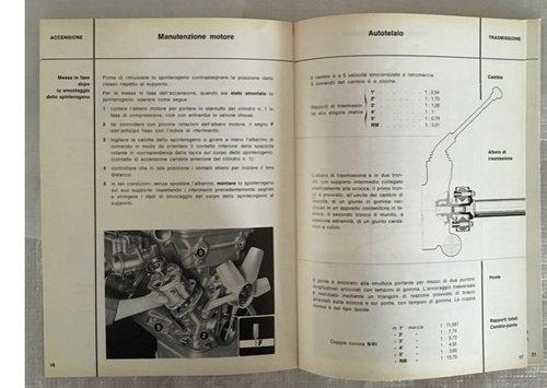 Owner's Manual Alfa Romeo Giulia Sprint GTA 1600 For Sale (picture 4 of 5)