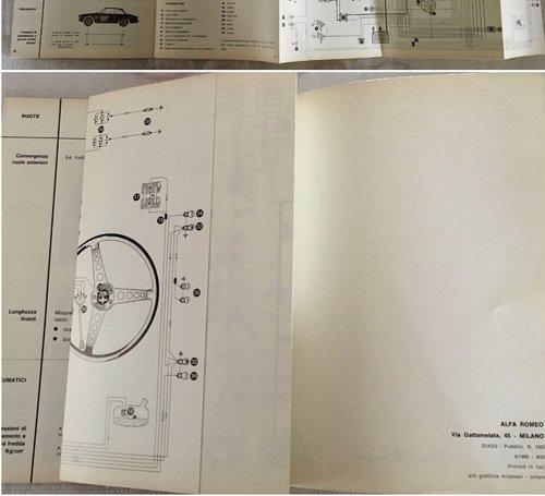 Owner's Manual Alfa Romeo Giulia Sprint GTA 1600 For Sale (picture 5 of 5)