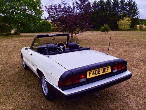 1988 Alfa Romeo Kammtail spider For Sale (picture 2 of 6)