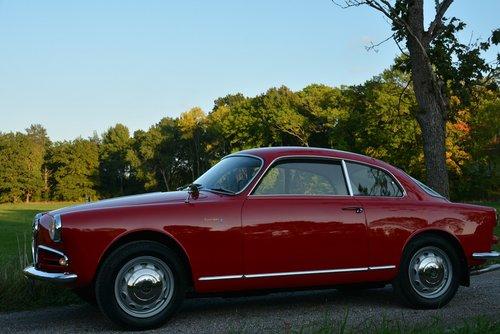 1956 Alfa Romeo 1300 Giulietta Sprint-56 34.000Km! For Sale (picture 1 of 6)