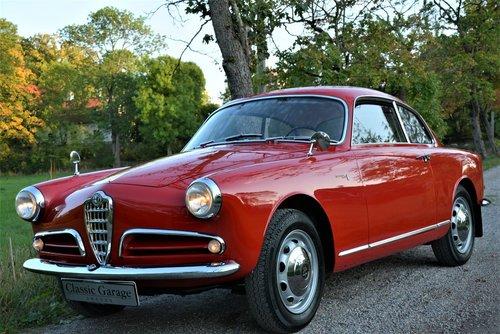 1956 Alfa Romeo 1300 Giulietta Sprint-56 34.000Km! For Sale (picture 2 of 6)