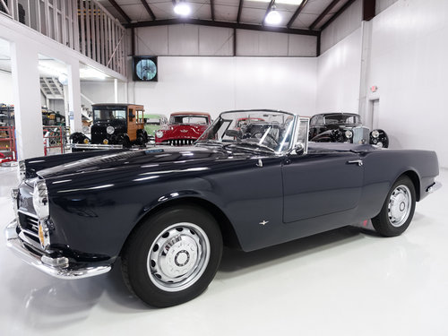 1963 Alfa Romeo 2600 Spider by Touring SOLD (picture 1 of 6)
