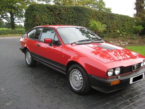 1984 alfa romeo gtv6 for sale | car and classic