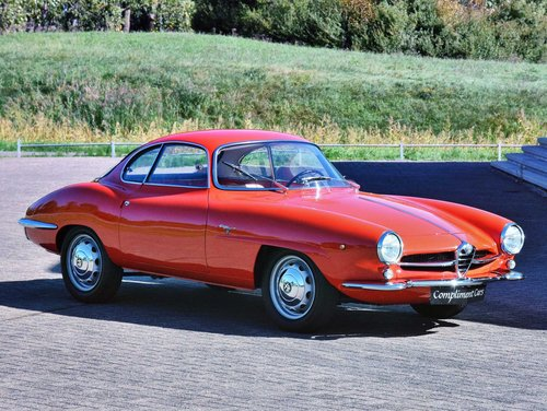1962 Alfa Romeo Giuiletta Sprint Speciale € 140.000 For Sale (picture 1 of 6)
