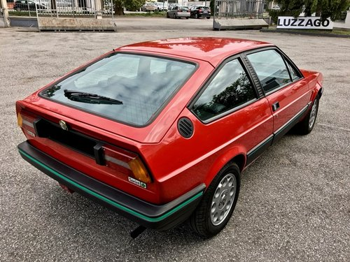 1987 ALFA ROMEO ALFASUD SPRINT 1500 QUADRIFOGLIO VERDE SOLD (picture 3 of 6)