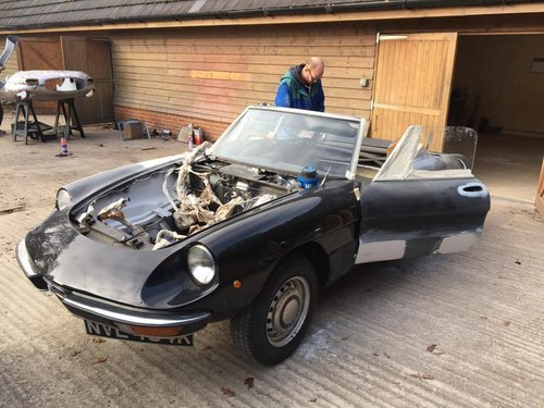 1971 SPIDER  RESTORATION   For Sale (picture 1 of 2)