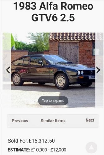 Afla romeo gtv6 1984 For Sale (picture 6 of 6)