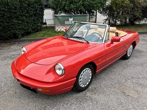 1991 ALFA ROMEO DUETTO 1600 S4 For Sale (picture 1 of 6)