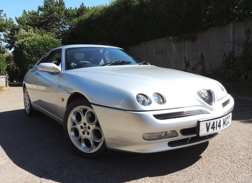 1999 Alfa-Romeo GTV 2.0 TSpark 40k from new 2 owner FSH For Sale (picture 1 of 6)