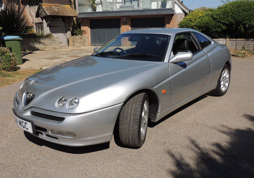 1999 Alfa-Romeo GTV 2.0 TSpark 40k from new 2 owner FSH For Sale (picture 2 of 6)