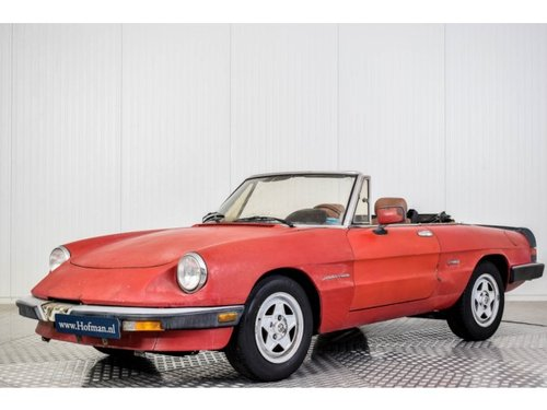 1987 Alfa Romeo Spider Veloce 2.0 Injection For Sale (picture 1 of 6)