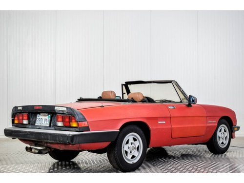 1987 Alfa Romeo Spider Veloce 2.0 Injection For Sale (picture 2 of 6)
