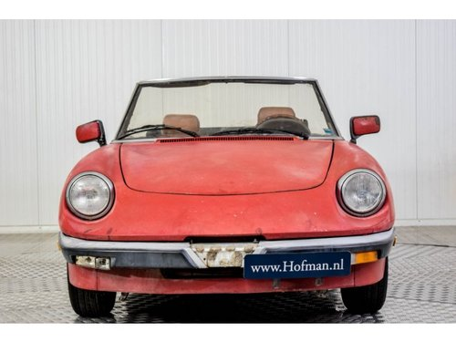 1987 Alfa Romeo Spider Veloce 2.0 Injection For Sale (picture 3 of 6)