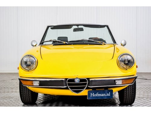 1982 Alfa Romeo Spider 2.0 Veloce For Sale (picture 3 of 6)