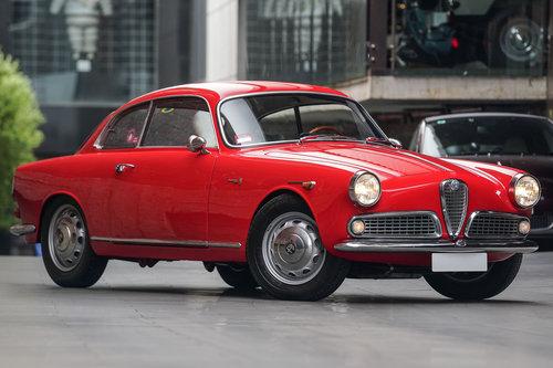 1959 Alfa Romeo Giulietta Sprint (LH Drive) SOLD (picture 1 of 6)