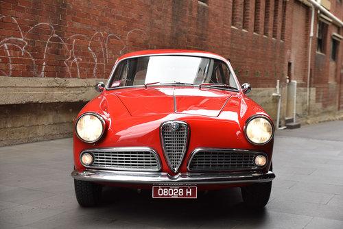 1959 Alfa Romeo Giulietta Sprint (LH Drive) SOLD (picture 2 of 6)
